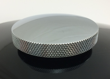 Indian replacement gas cap 2002-2004 diamond knurl design